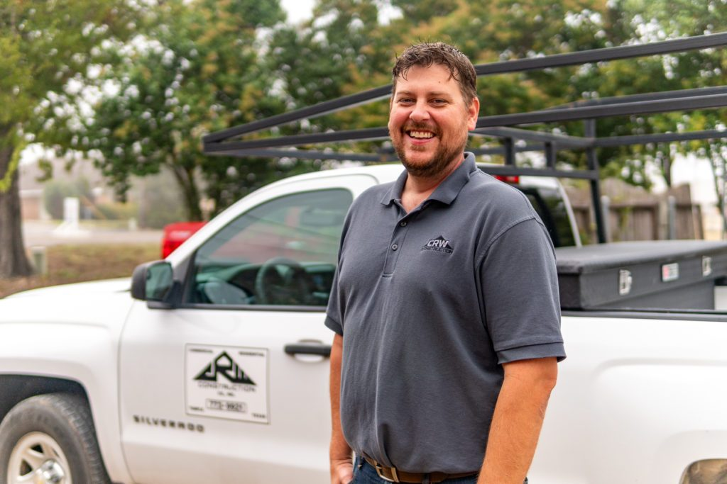 Todd Russell, the General Manager of CRW Construction